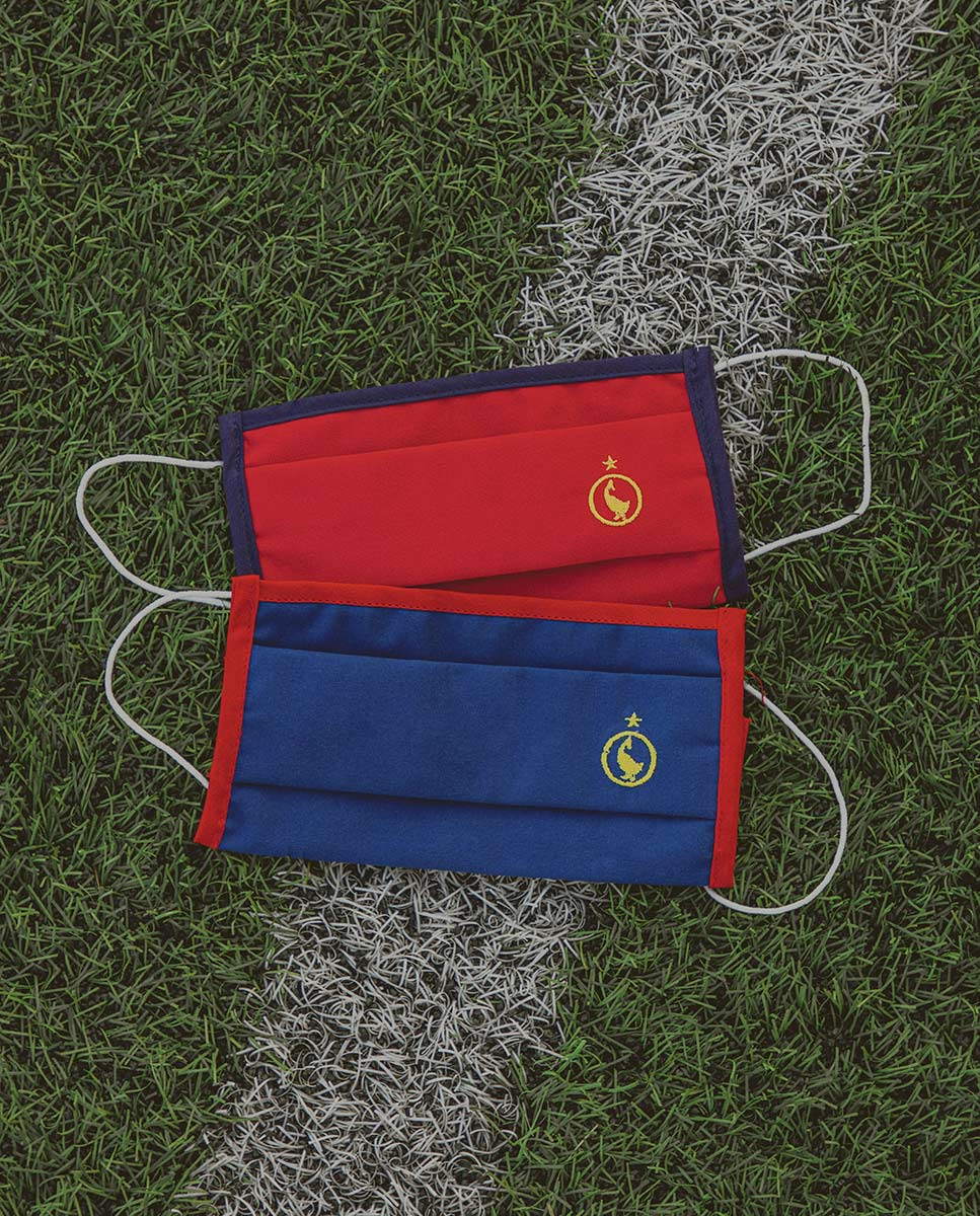 Pack 2 Masques RFEF (Navy/Red)