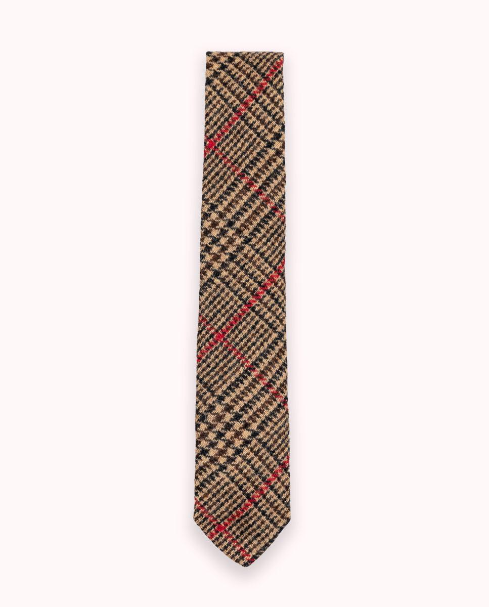 Corbata Gales Perfil Rojo