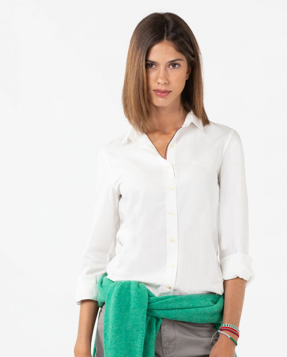 Classic White Pinpoint Shirt
