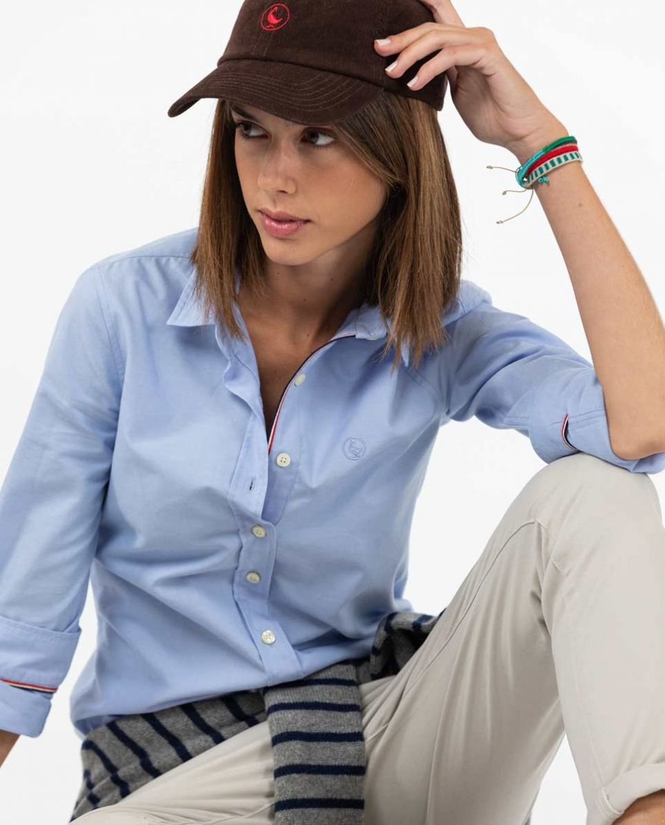 Classic Sky Blue Pinpoint Shirt