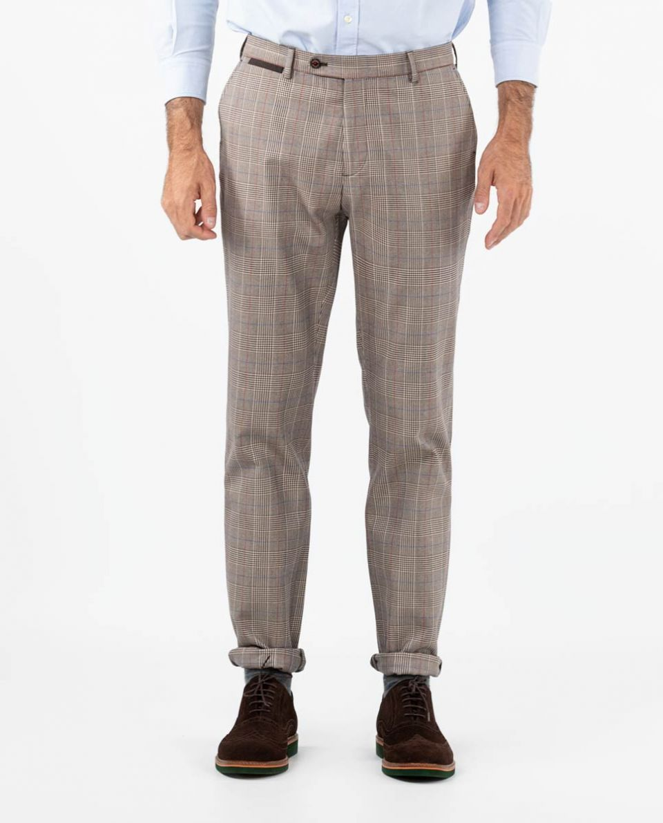Brown Prince of Wales Trouser Separate