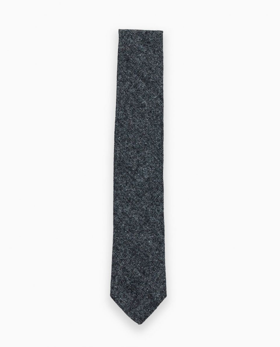 Grey Donegal Tie