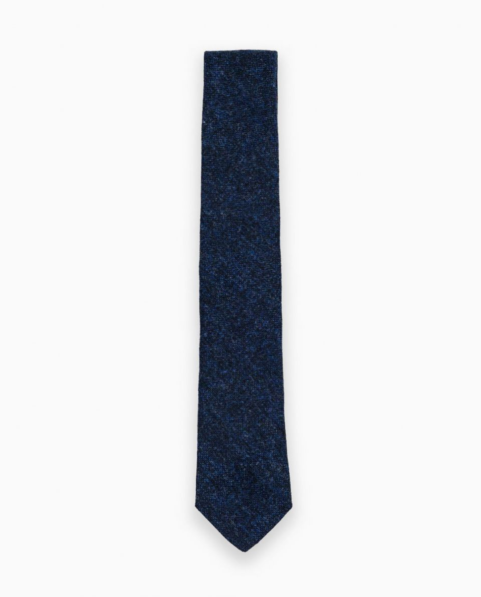 Navy Donegal Tie