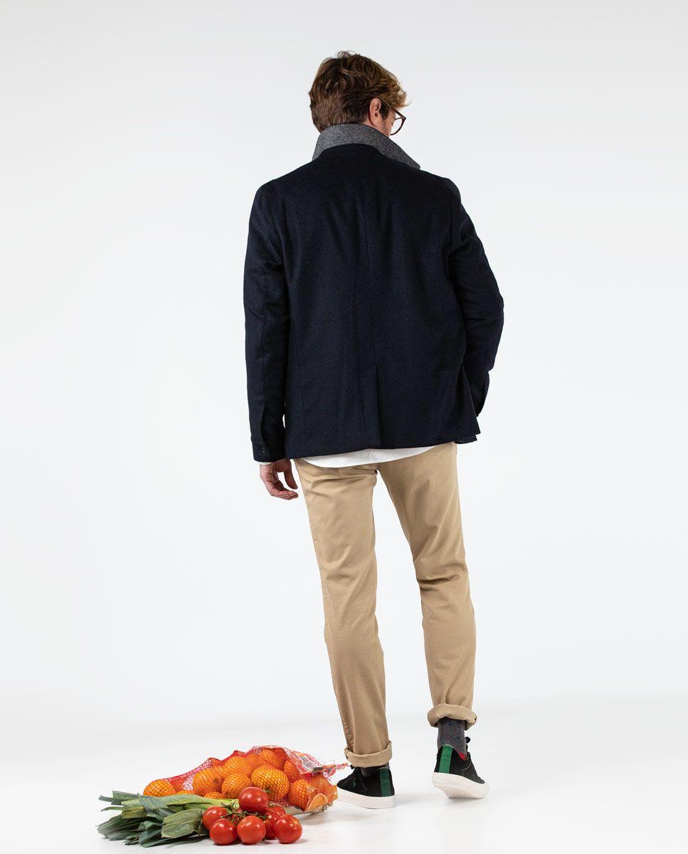 Blazer bleu marine quatre poches Work wear Image 4