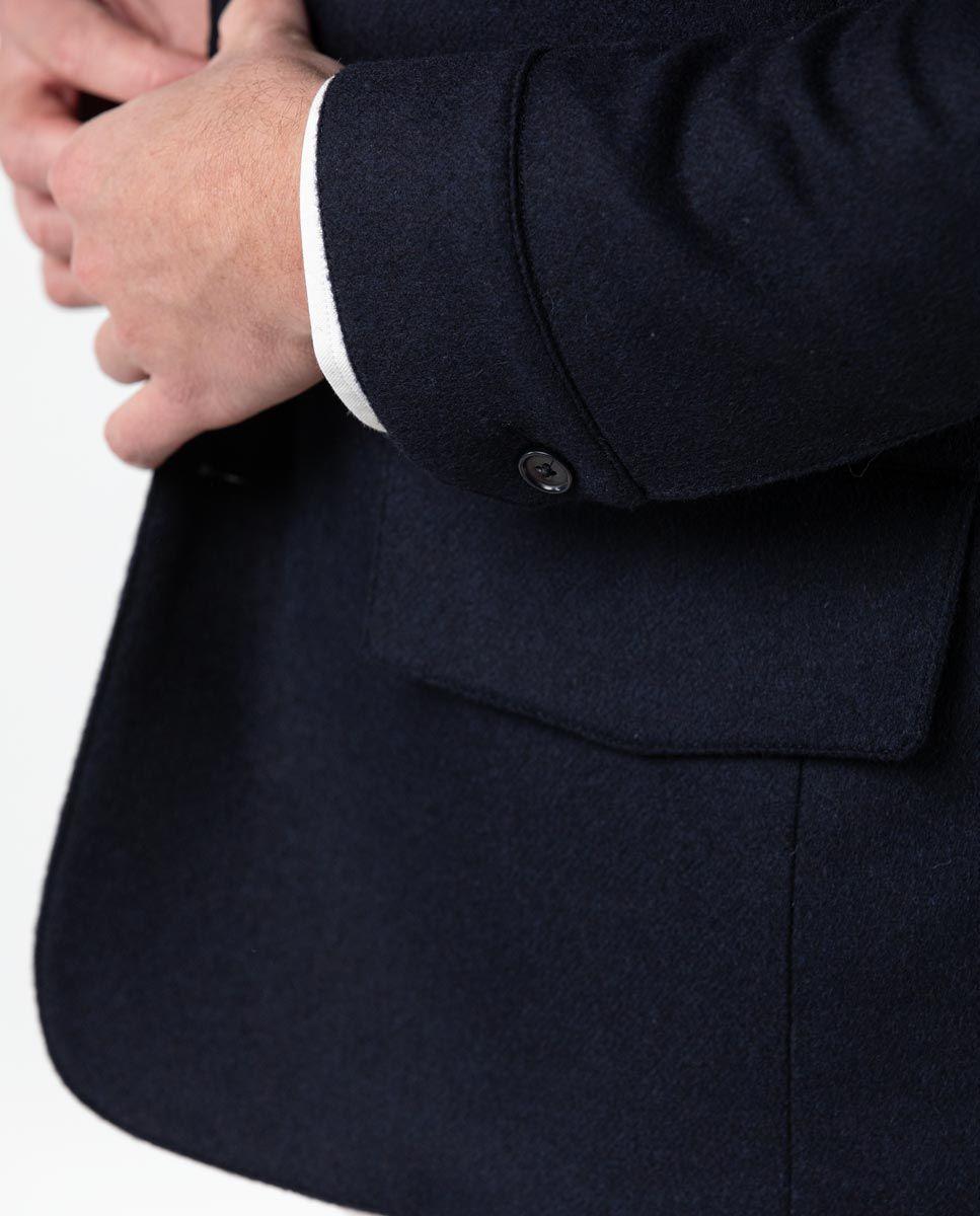 Blazer bleu marine quatre poches Work wear Image 7