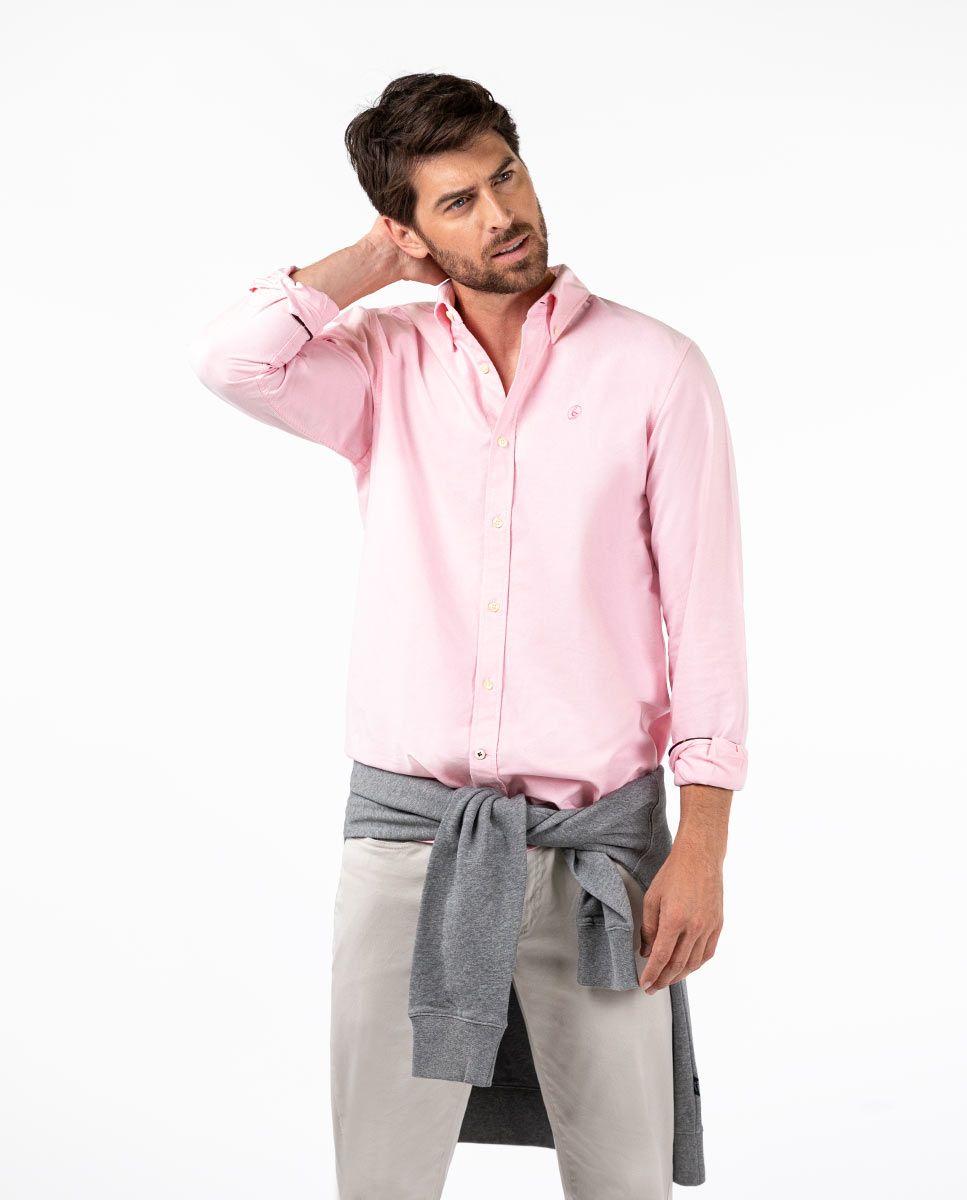 Camisa Oxford Rosa Image 3