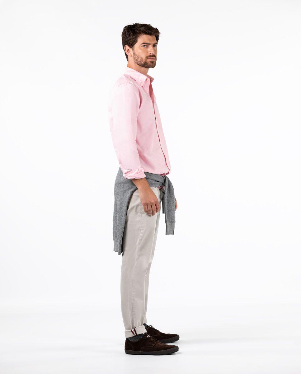 Camisa Oxford Rosa Image 1