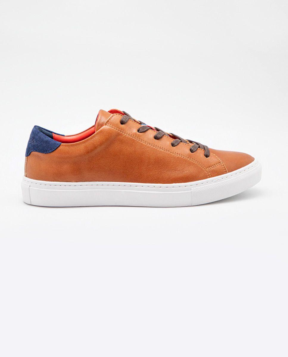 Sneaker Piel Cogñac Image 2