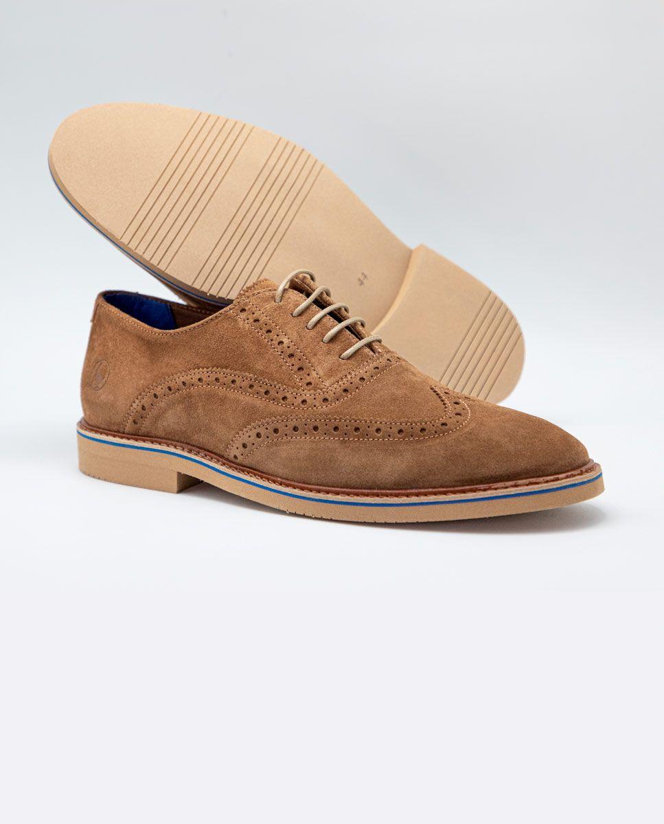 Zapato Oxford Ante Camel Image 3