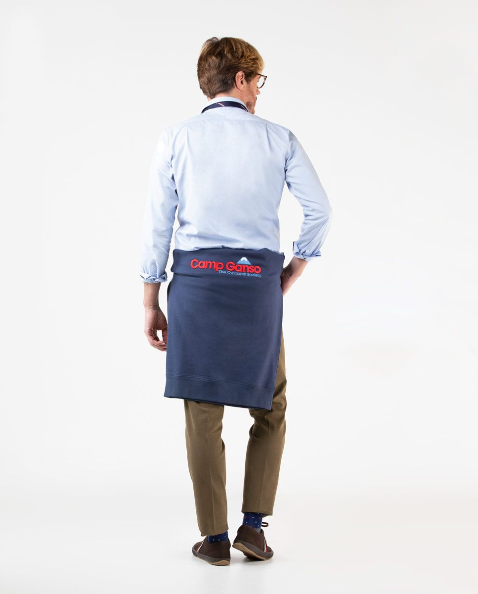 Sky Blue Pinpoint Dress Shirt Image 4