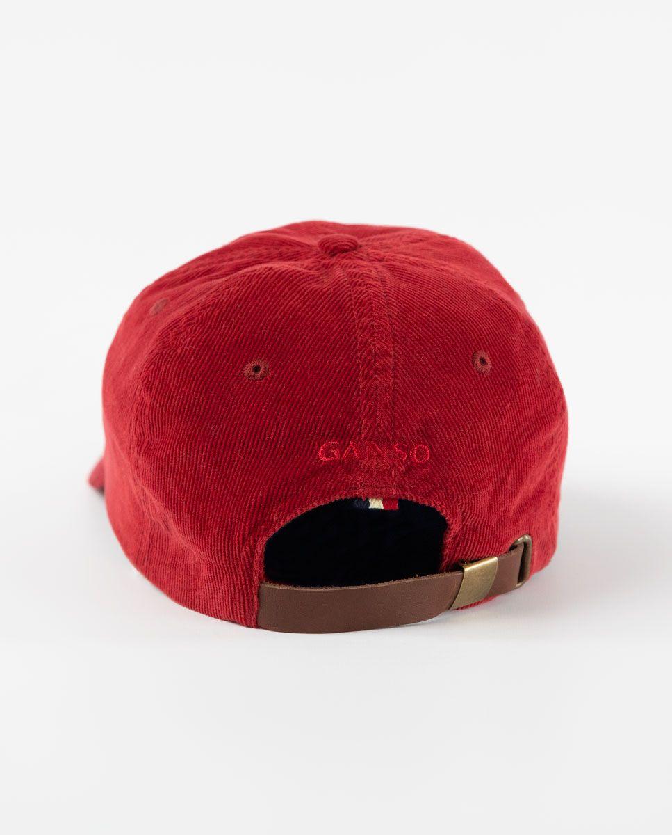 Gorra de Pana Granate  Image 1