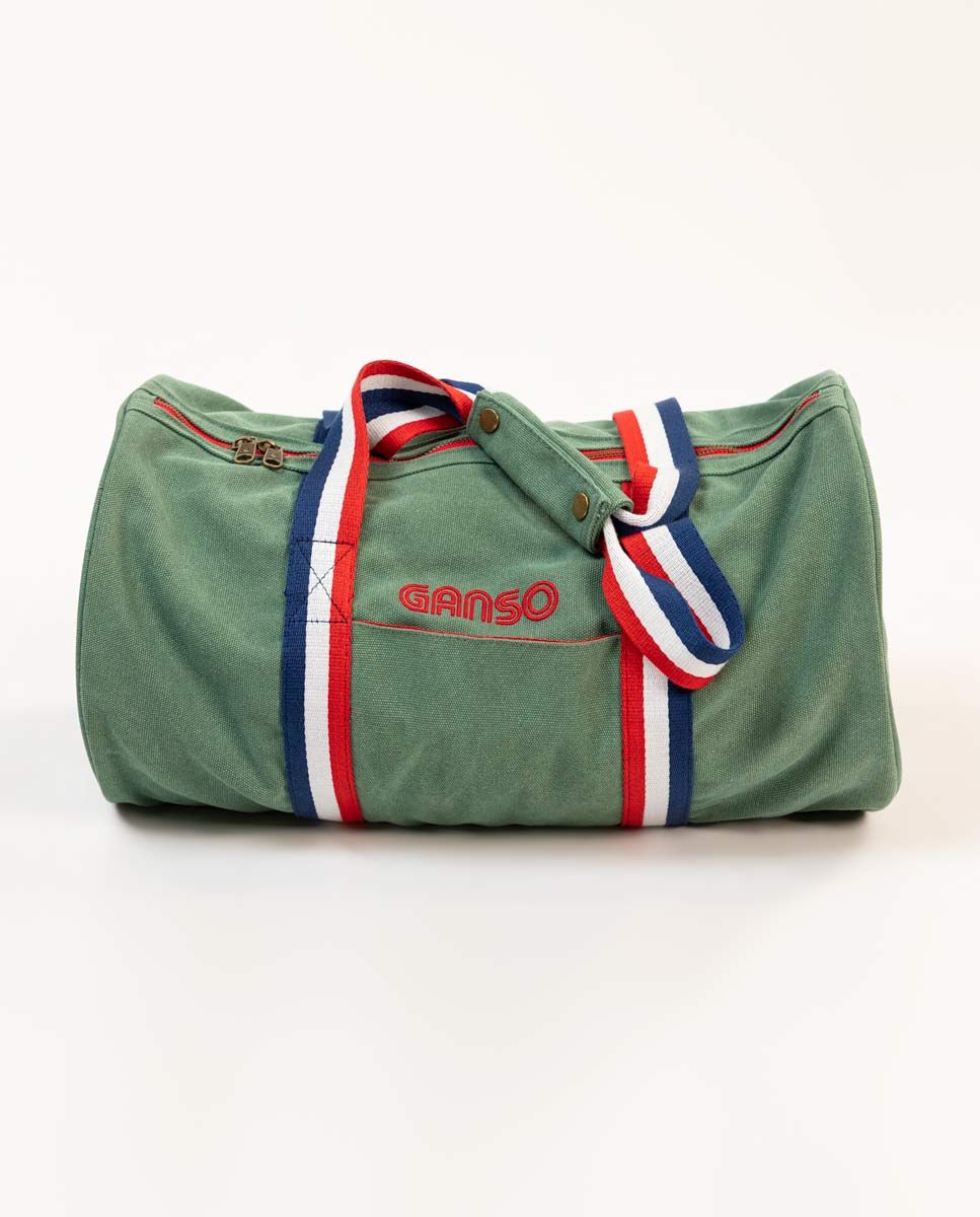 Duffle Canvas Washed Verde Image 1