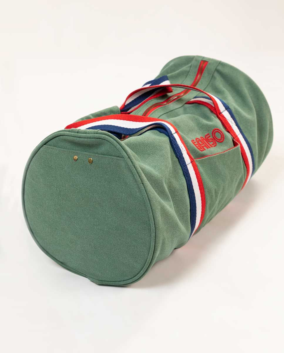 Duffle Canvas Washed Verde Image 2