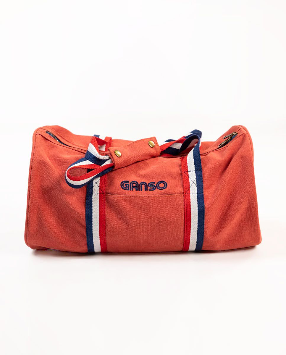 Duffle Canvas Washed Roja Image 5