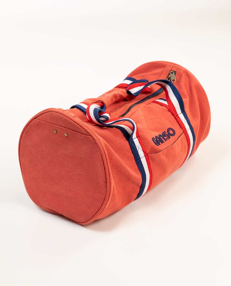 Duffle Canvas Washed Roja Image 2