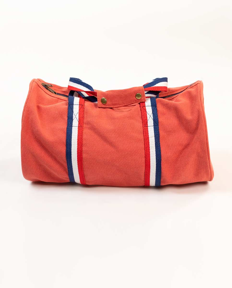 Duffle Canvas Washed Roja Image 3