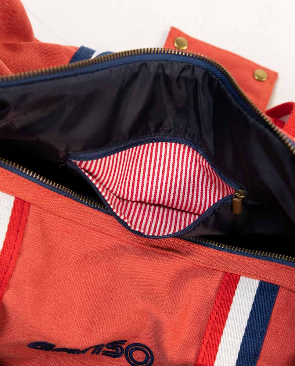 Duffle Canvas Washed Roja Image 4