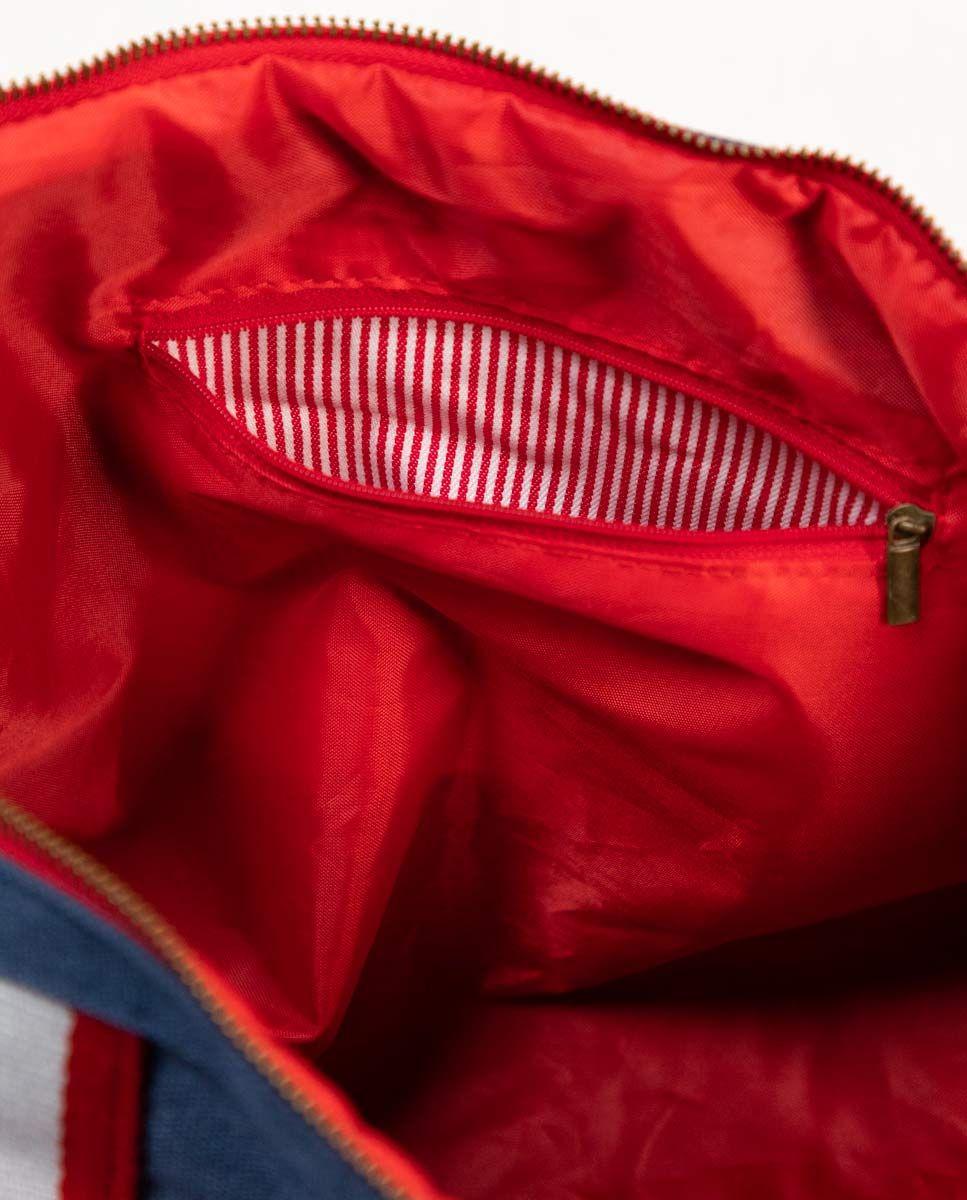 Duffle Canvas Washed Marino Image 5