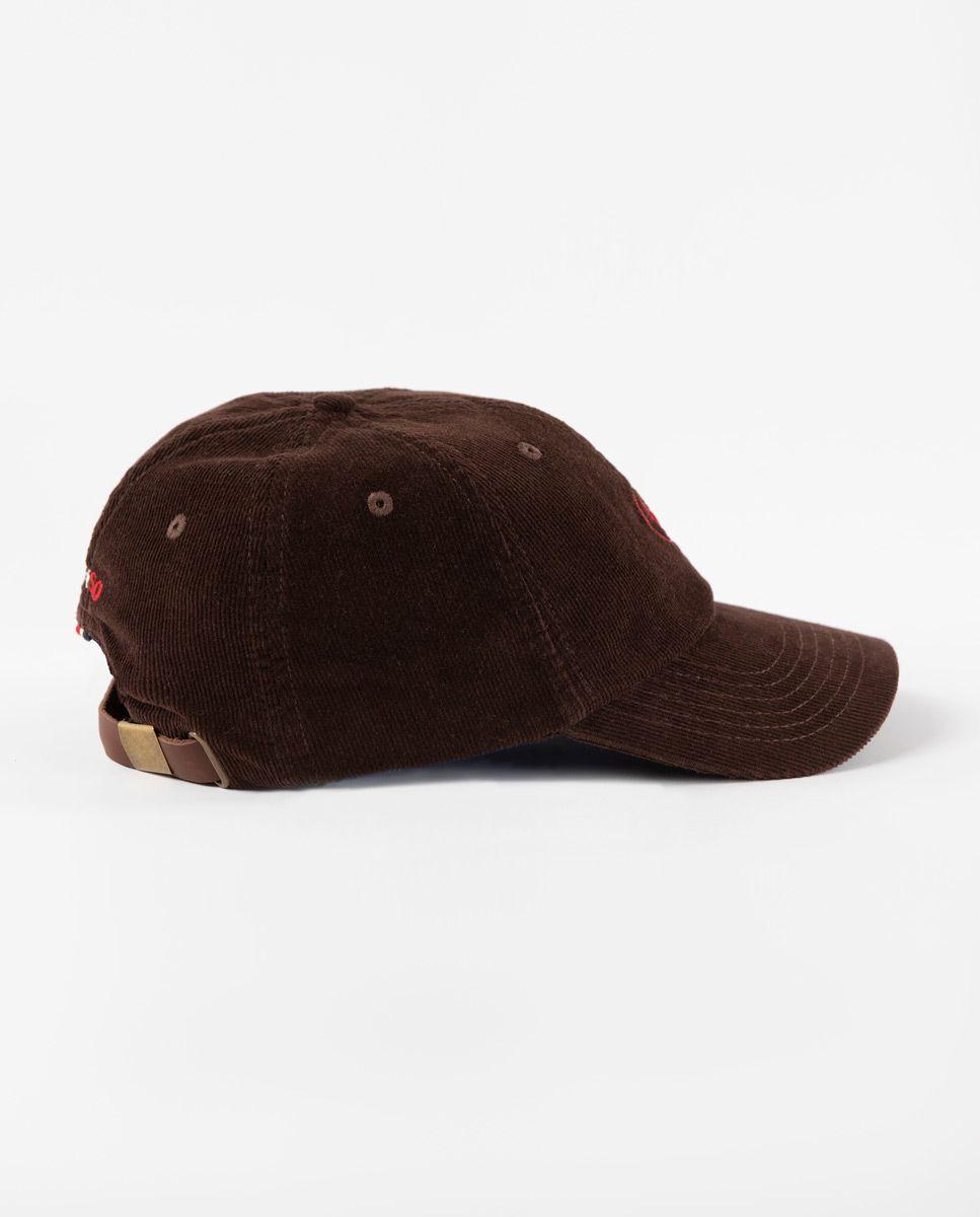 Gorra de Pana Marrón Image 2