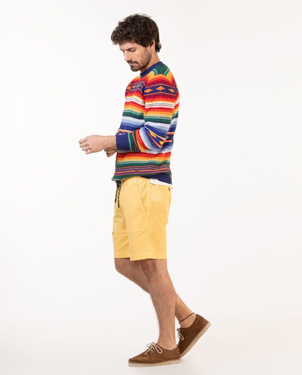 Jersey Rayas Multicolor Étnico Image 3