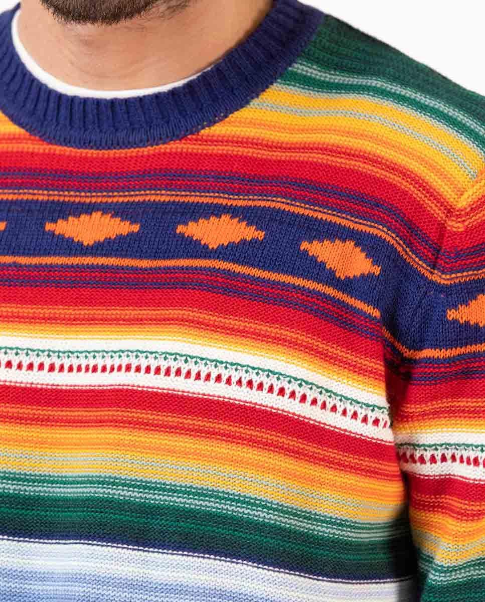 Jersey Rayas Multicolor Étnico Image 4