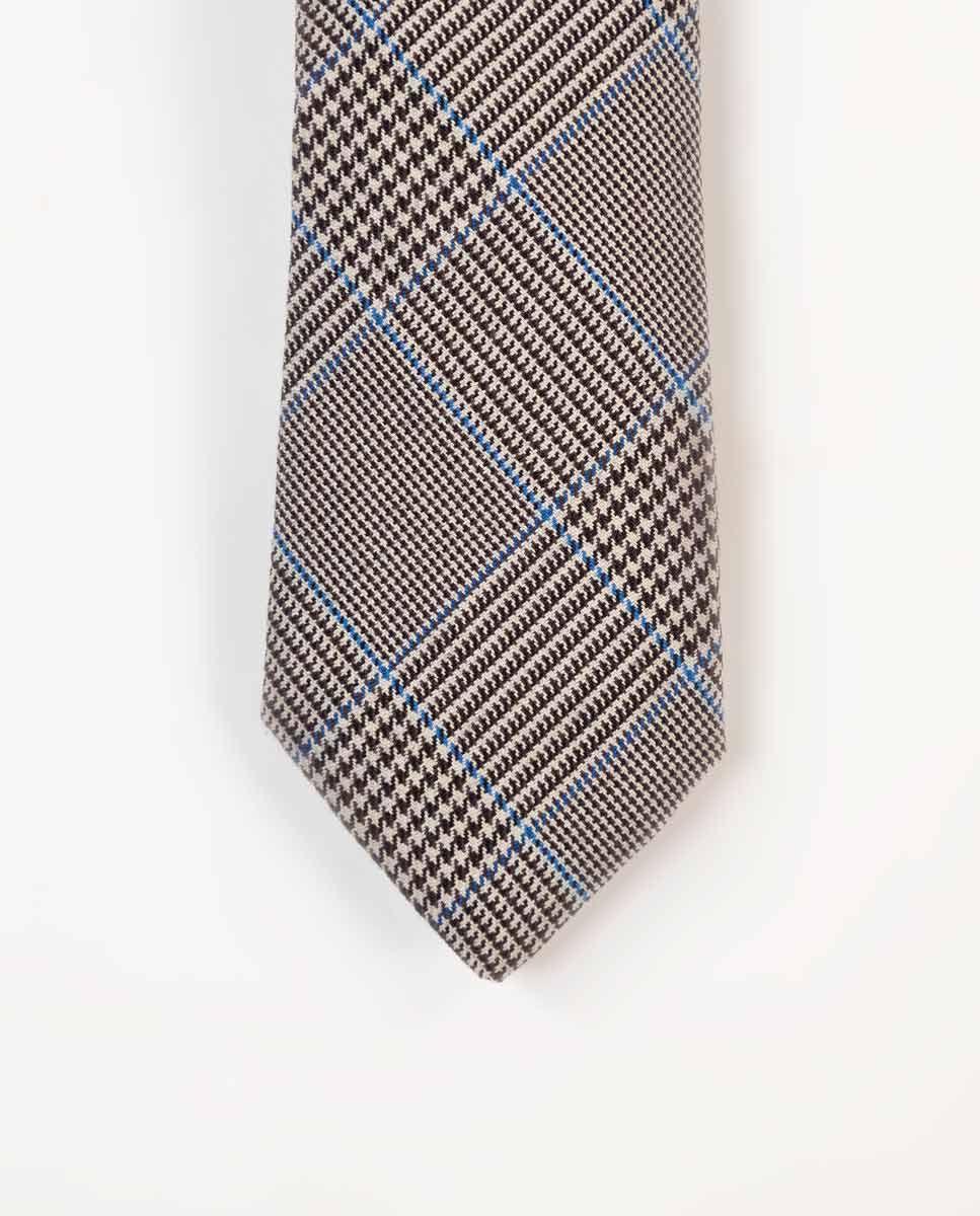 Cravate Galles Finition Bleu Image 2