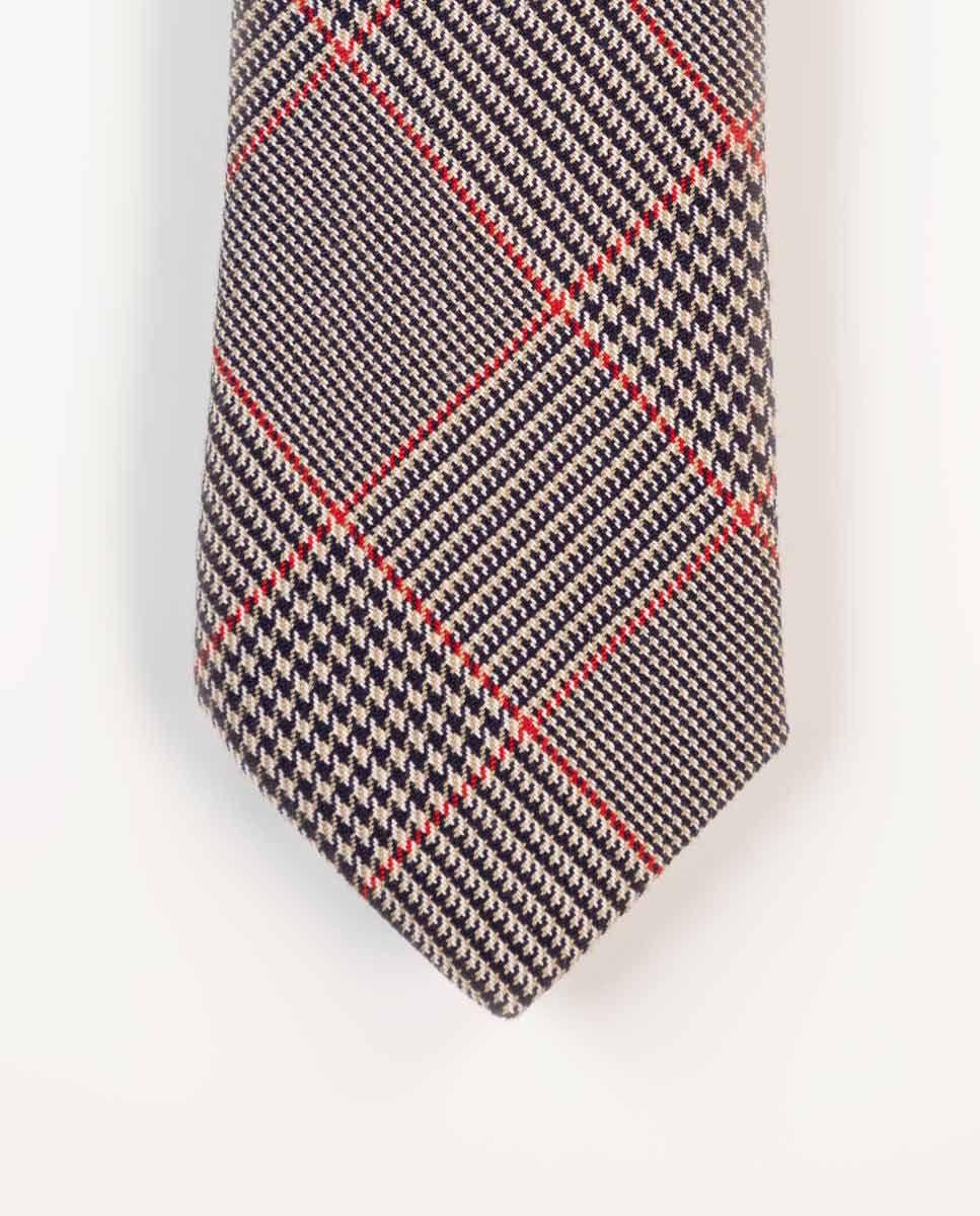 Cravate Galles Finition Rouge Image 2