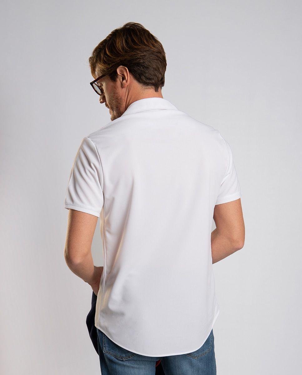 White Sepiia Polo Image 4