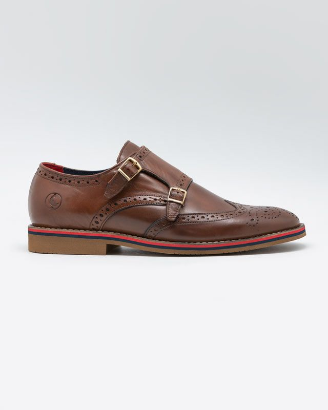 Leather Shoes W/Double Buckle Image 1