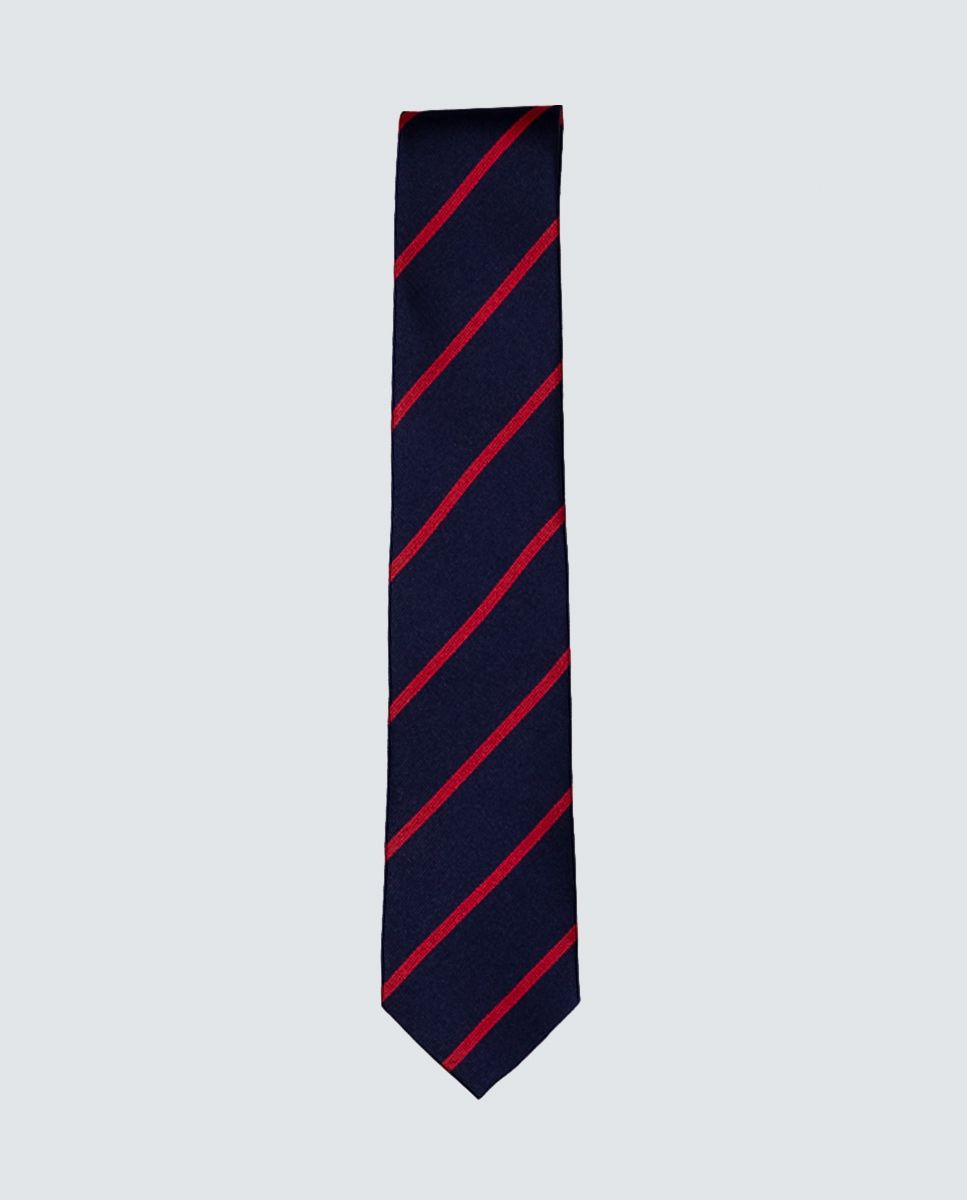 Red Striped Tie  Image 1