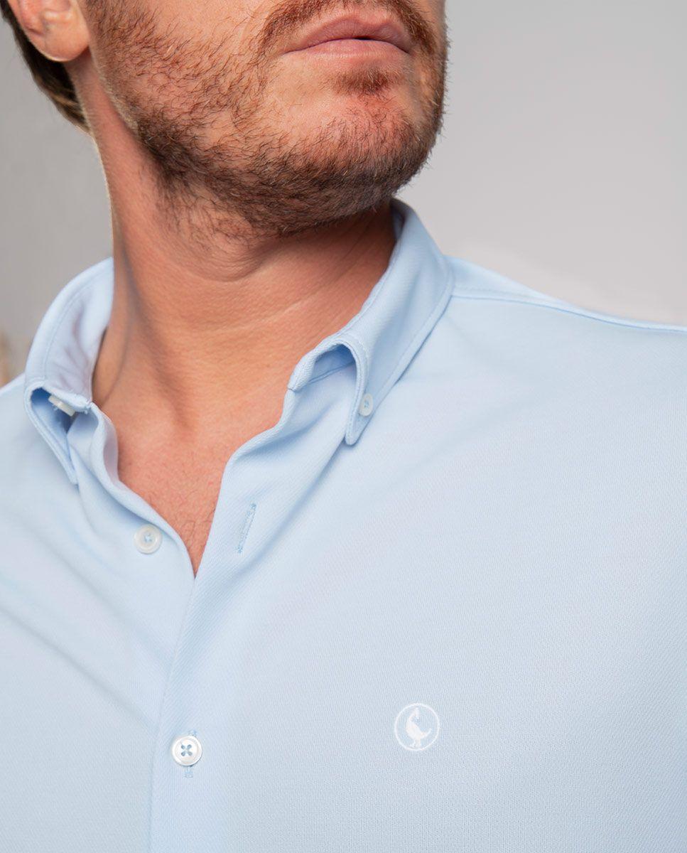 Camisa Sepiia Celeste Image 4