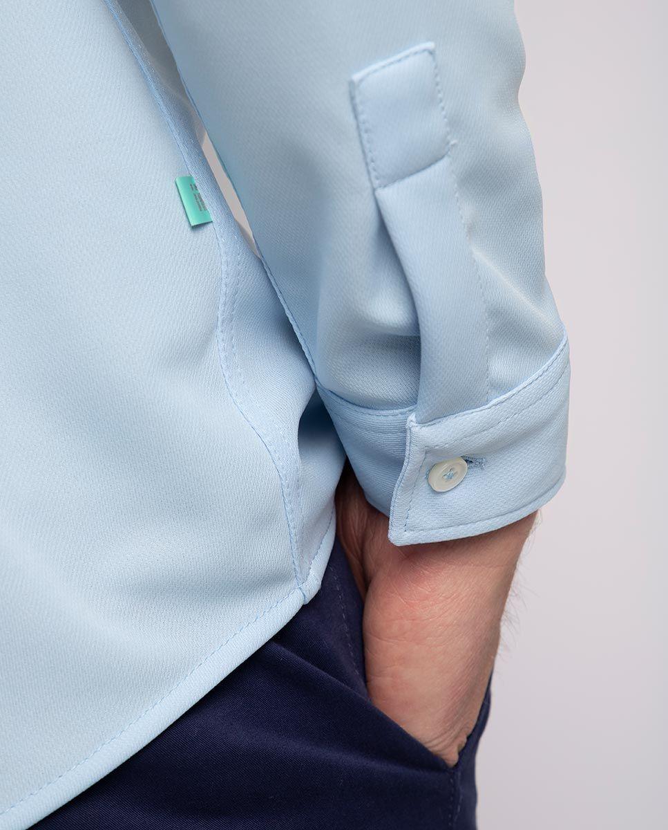 Camisa Sepiia Celeste Image 6