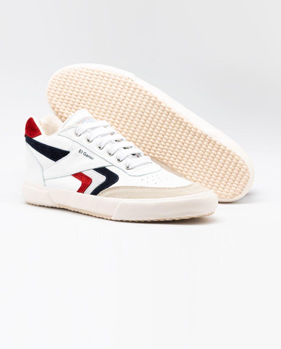 White Leather Basket Sneaker Image 3
