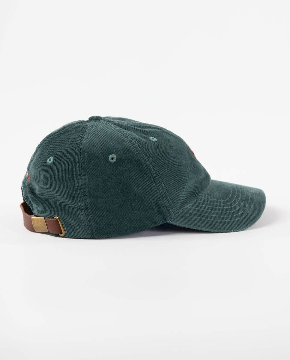 Gorra de Pana Verde Image 2