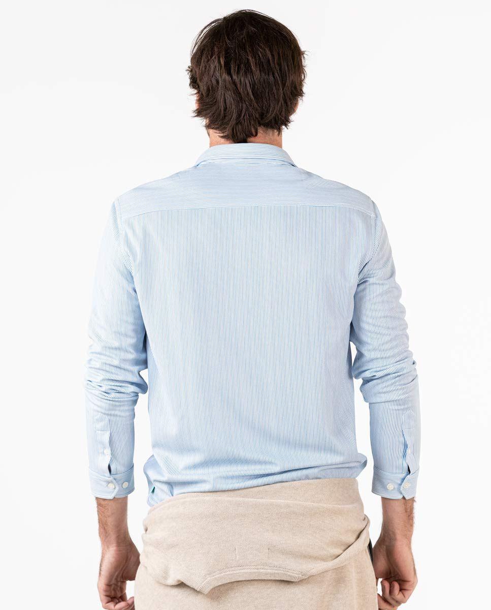 Camisa Sepiia Mil Rayas Azul Image 5