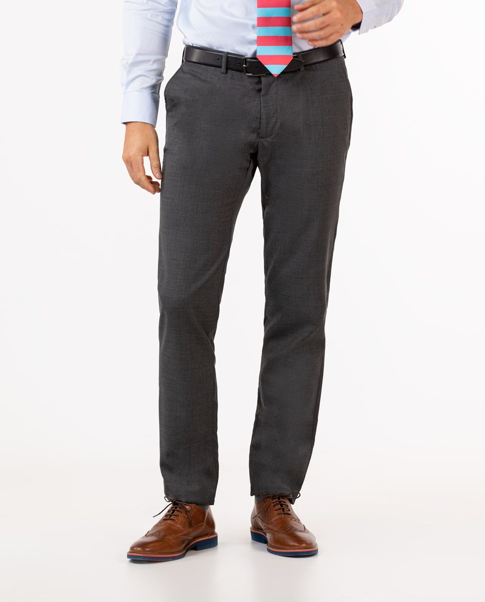 Grey Trousers Image 1