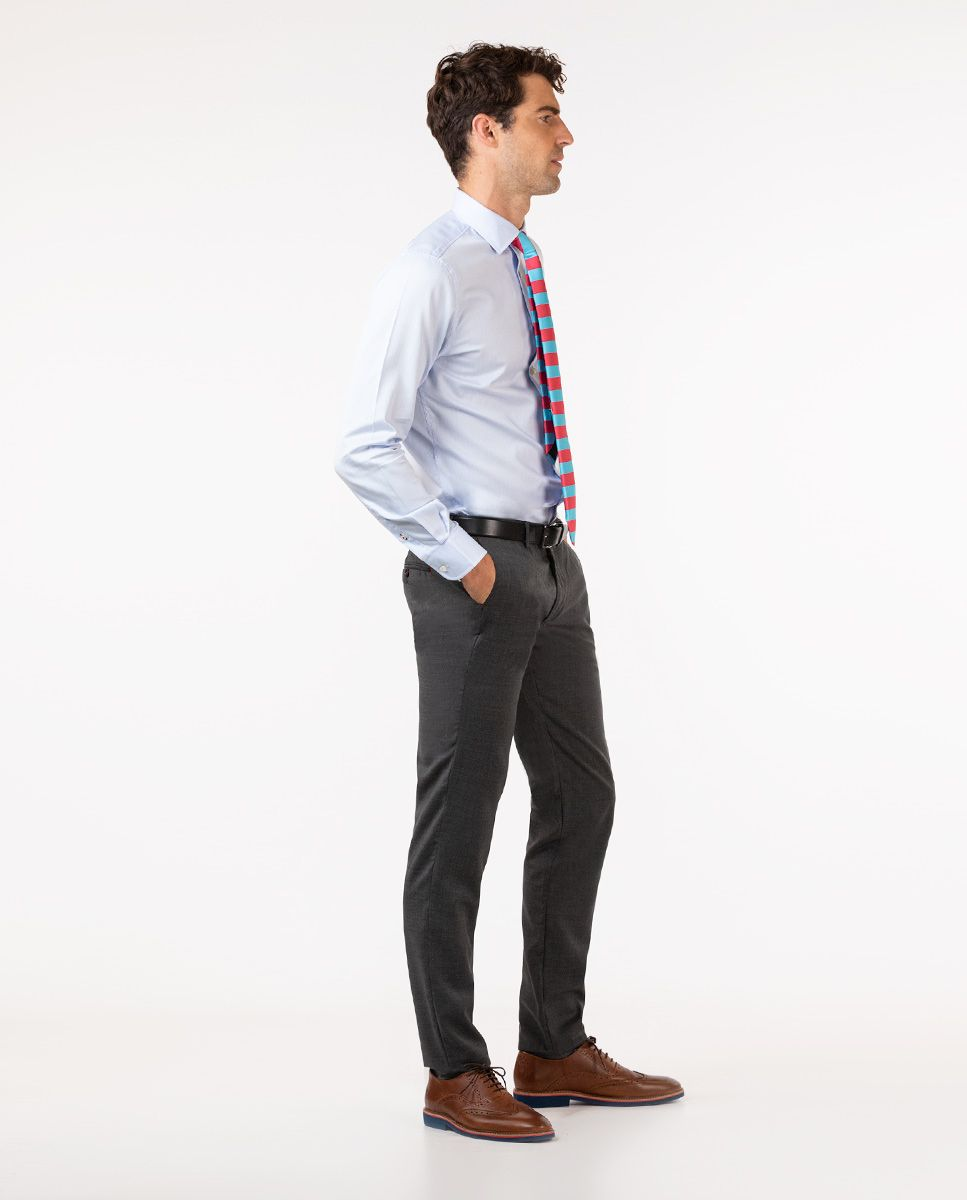 Grey Trousers Image 3