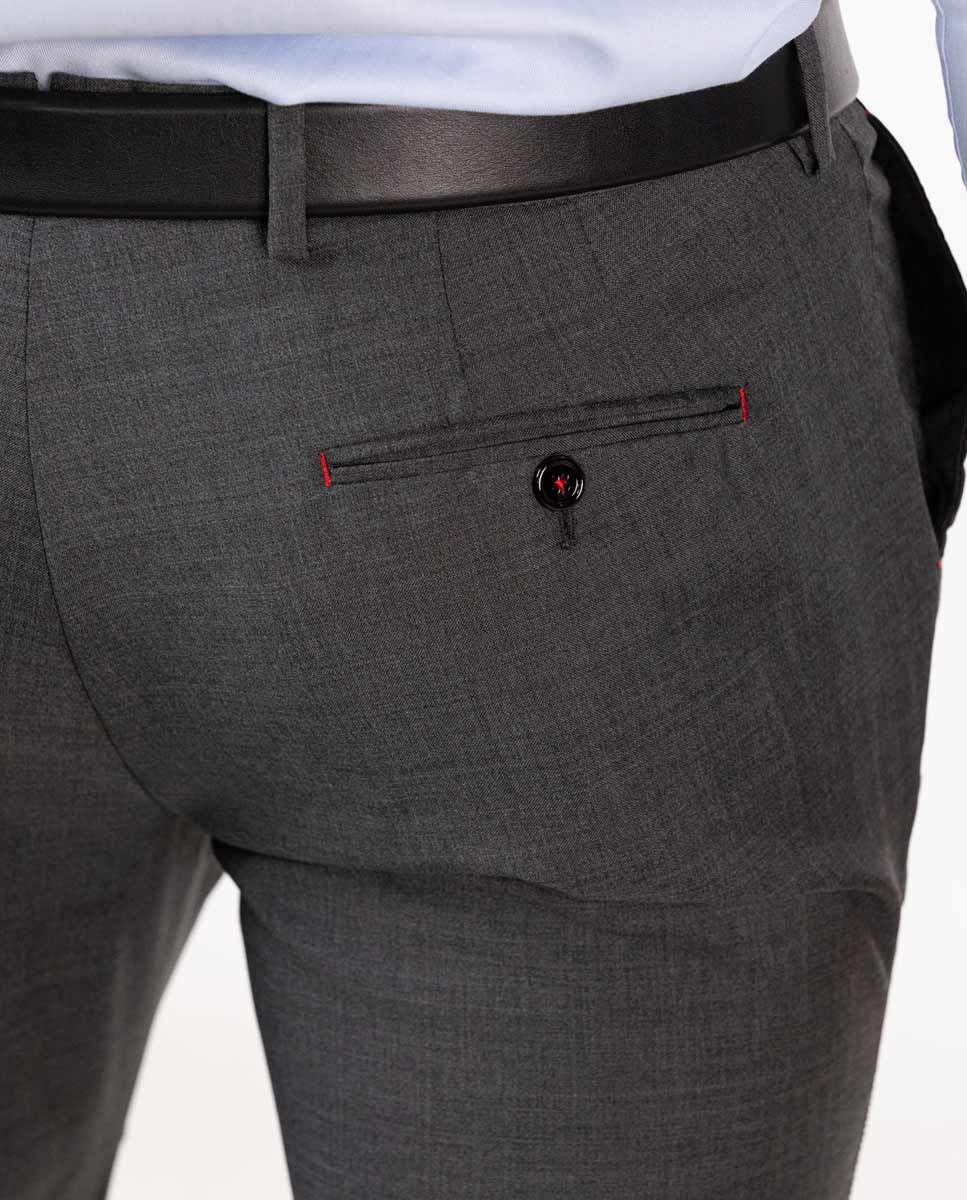 Grey Trousers Image 5