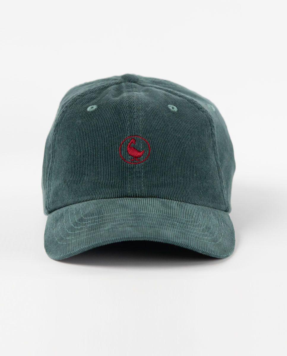 Gorra de Pana Verde Image 3