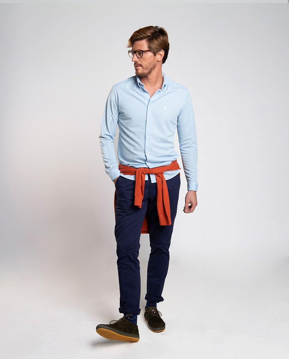 Camisa Sepiia Celeste Image 3