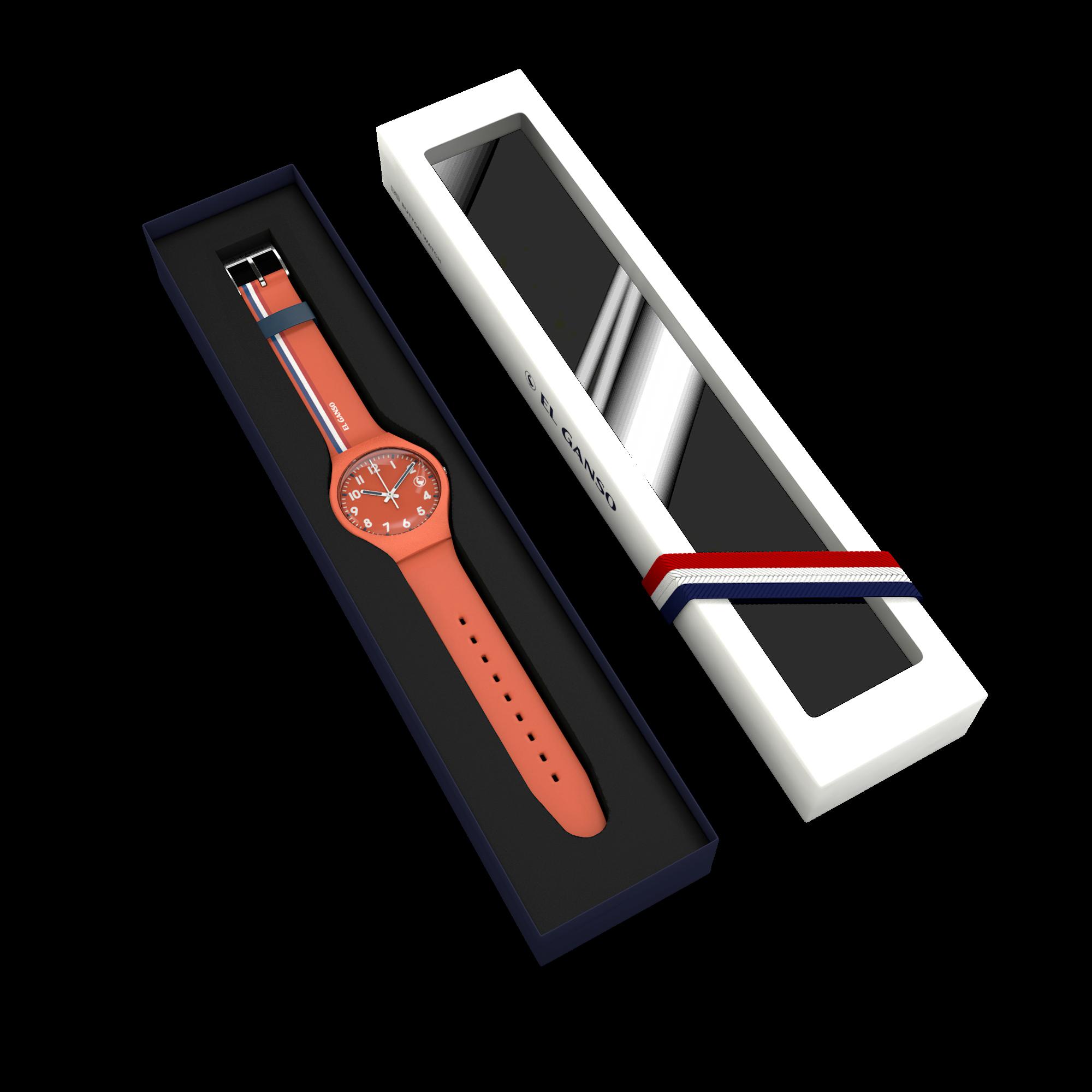 Reloj Ganso Naranja Image 4