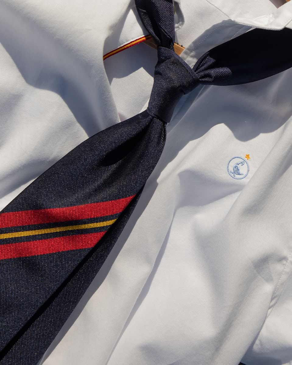 Plain White Oxford Shirt RSFF Image 5
