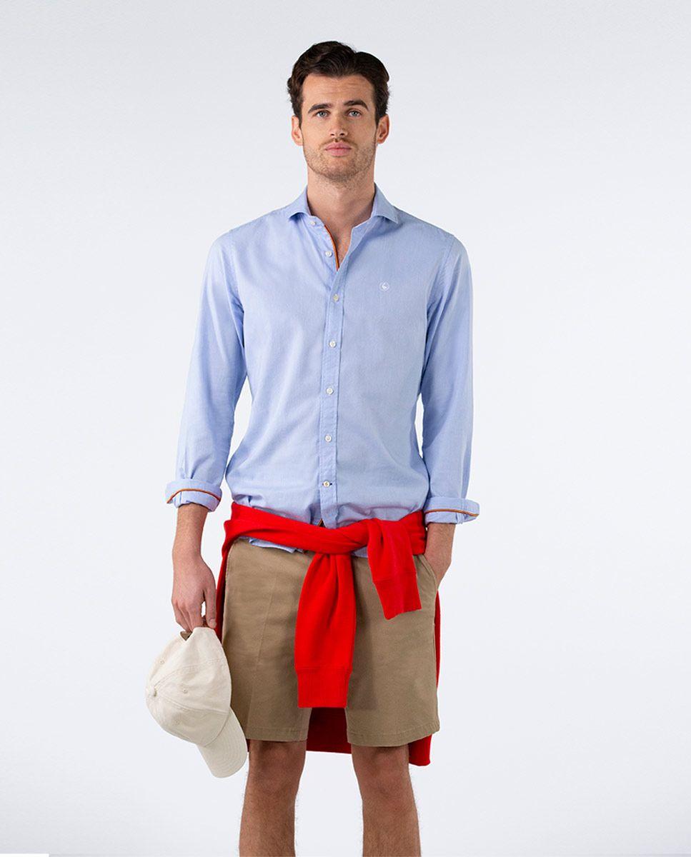 Plain Blue Oxford Shirt RSFF Image 1