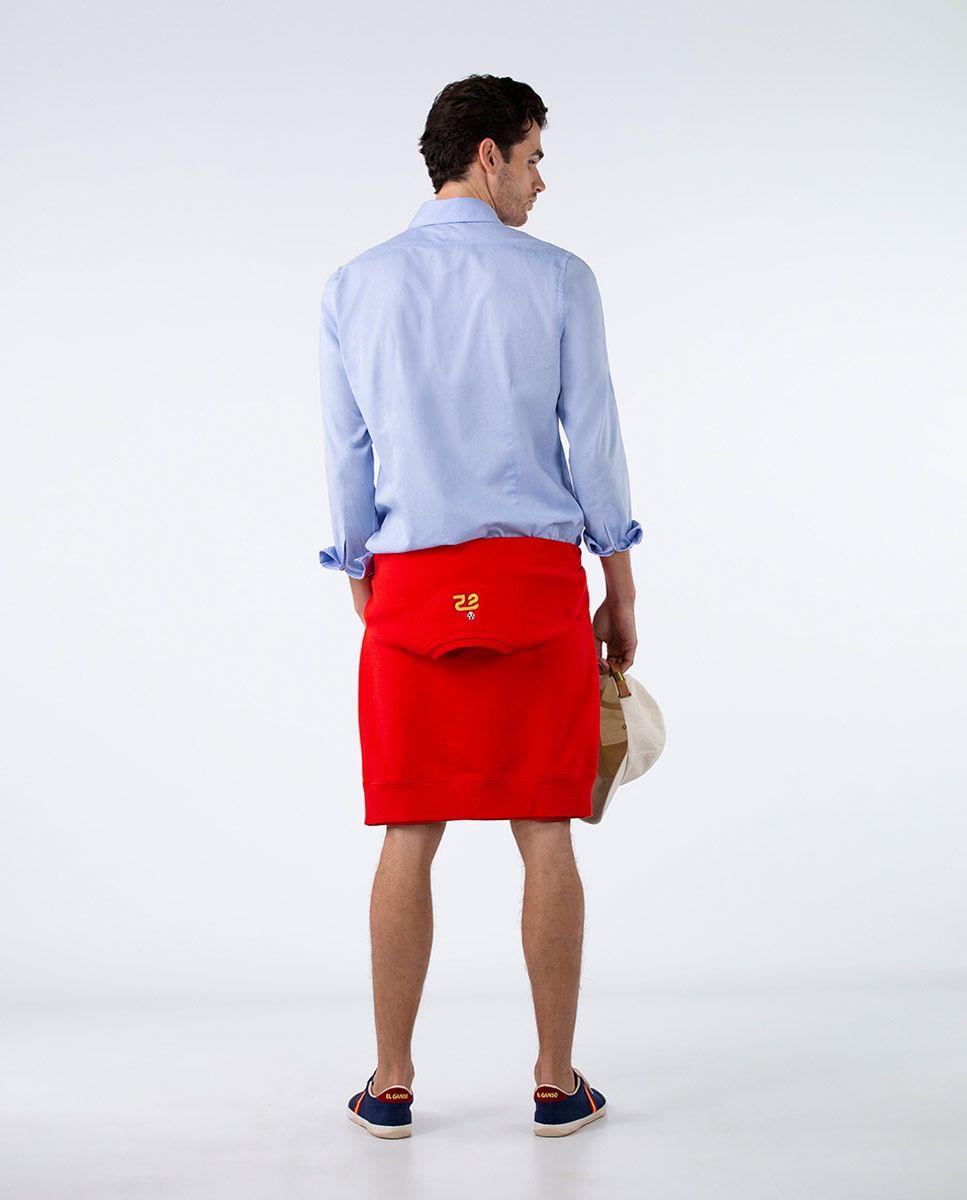 Plain Blue Oxford Shirt RSFF Image 3