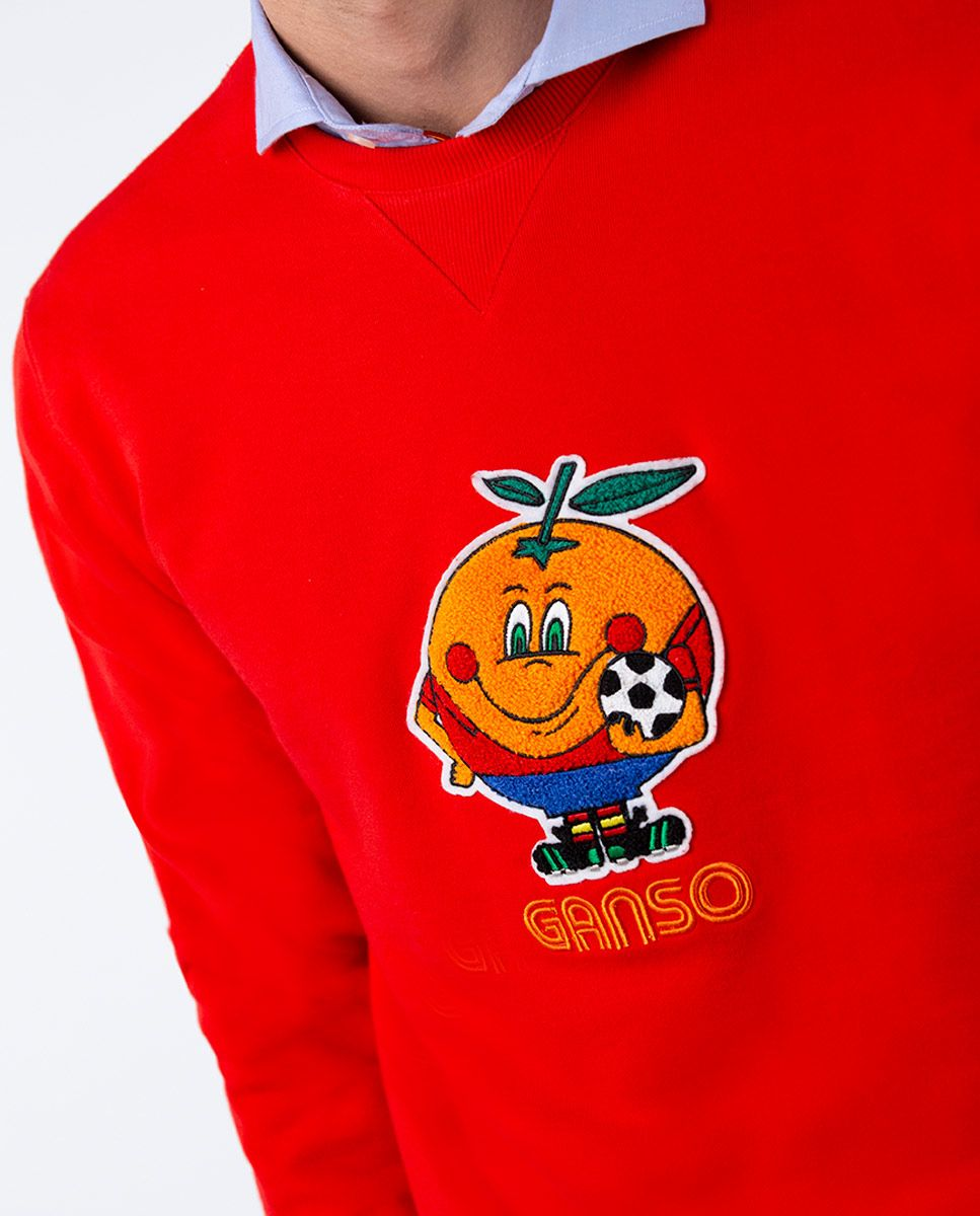Sudadera Naranjito Selección RFEF Roja Image 2