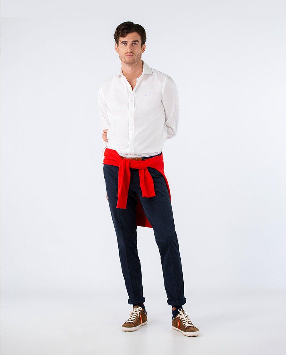 Plain White Oxford Shirt RSFF Image 1