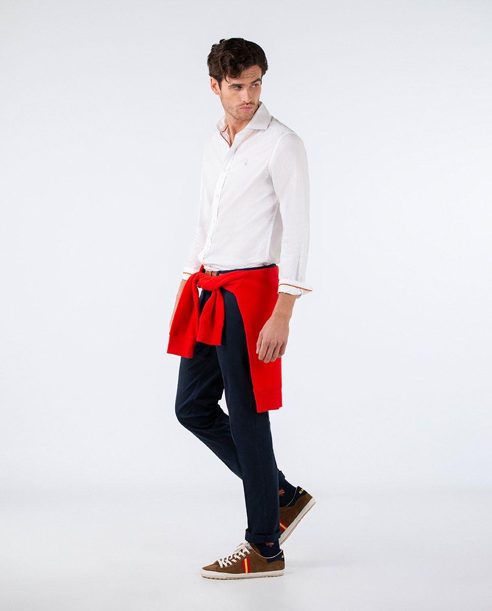 Plain White Oxford Shirt RSFF Image 2