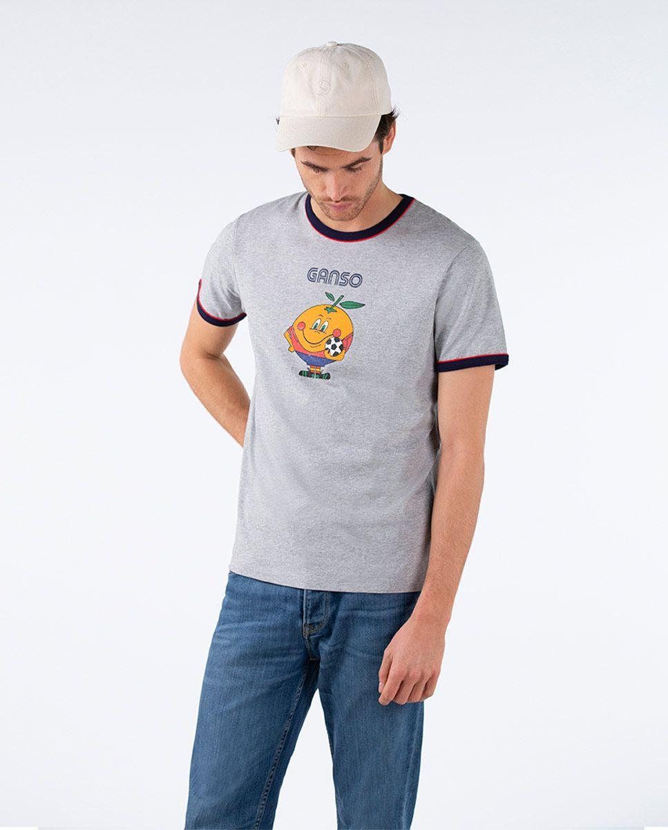 Camiseta Naranjito Selección RFEF Gris Image 2