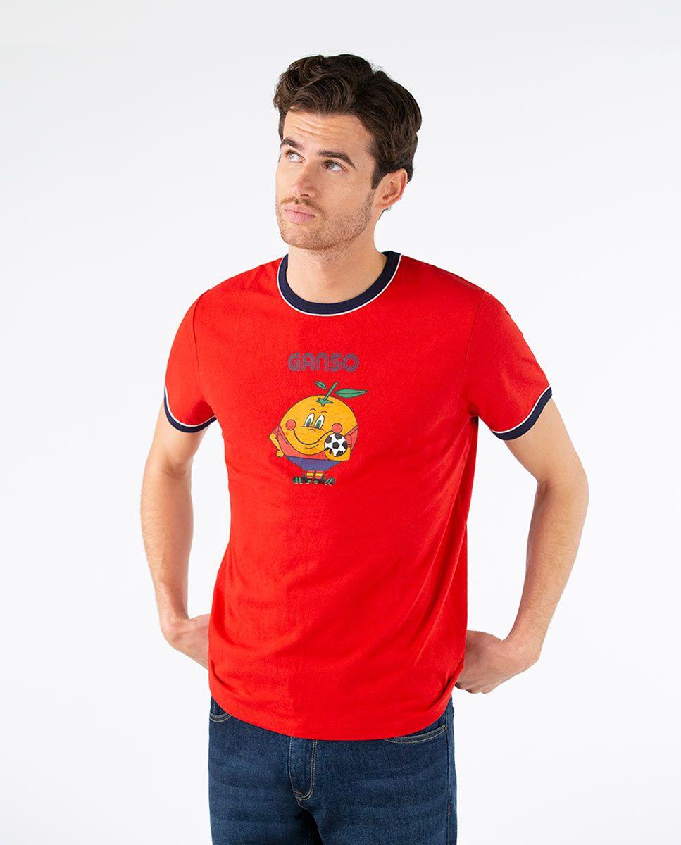 Camiseta Naranjito Selección RFEF Roja Image 3