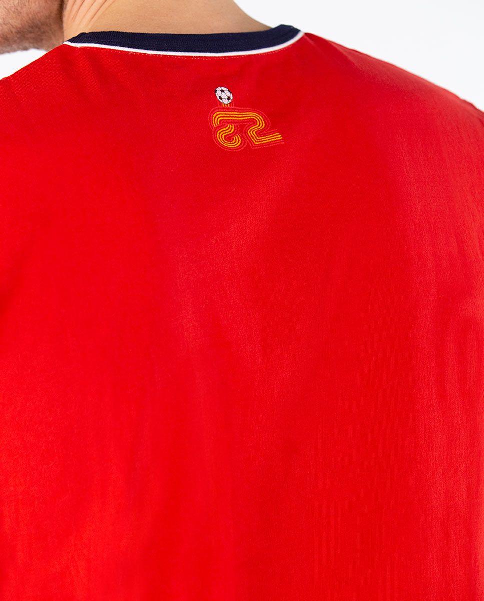 Camiseta Naranjito Selección RFEF Roja Image 4